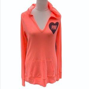 VICTORIA'S SECRET PINK | Fluro loungewear hoodie